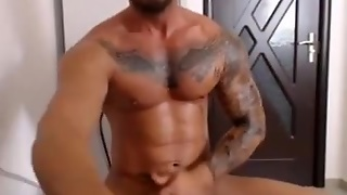 Str8 Muscle Vladimir On Web Camera