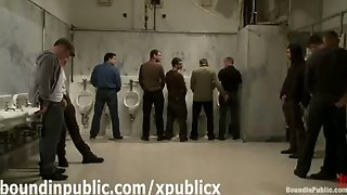 Group Of Gays In Public Toilets