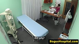 European Hospital Amateur Licked By Doctor