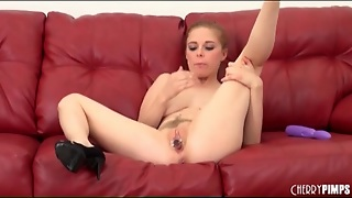 Cute Penny Pax Vibrates Her Hole Lustily