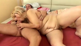 Blonde Granny Getting Anal