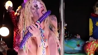 Bdsm Bitch Toys Ass And Pierced Pussy In Fetish Hd Solo