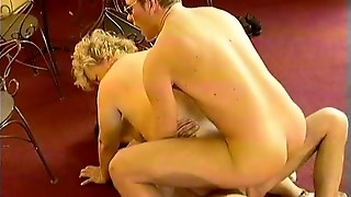 Horny Mature Woman Fucked By Two German Blokes