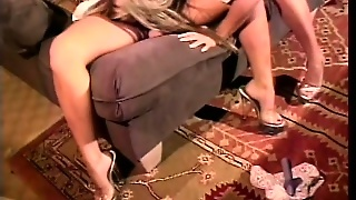Two Busty Waitresses Go Home Together And Cum Together In A Sexy 69