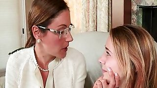 Stepmom Punishes Teen With A Strap-On