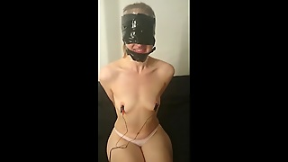 Electro Torture For Nipples And Pussy Of Teen