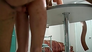 High Heel Porn In The Kitchen