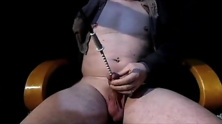 Fuck Hard Machine Rotating Toothed Rod Into My Cock.mp4