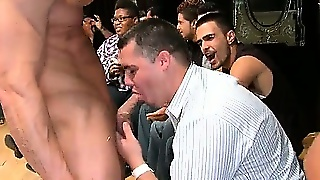 Muscled Stripper Gets Whipcream Licked Part6