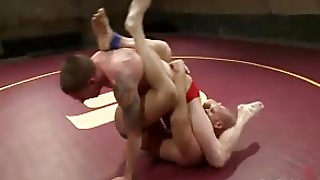 Wrestler Gets Dominated And Bound