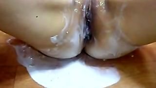 Hardcore Webcam Solo With Cream