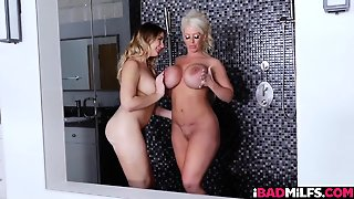 Blair And Alura Jenson With Rounded Tits
