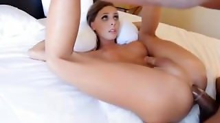 Sienna Grace Gobbles A Big Black Dick