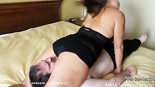 Miscle Girl Crushing Slave Head - Mixex Wrestling Domination
