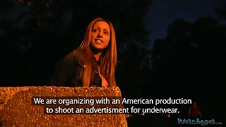 Publicagent Movie Scene. Melanie