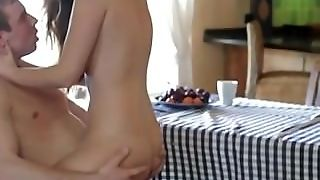 Connie Carter Creampie In The Kitchen