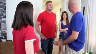 The Teens Goes For Some Fancy Blowjobs Swapping Daddy C
