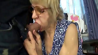 Gets, Blasted, Cum, Getting, Licked, Lady, Young, Hairy, Gilf, Cougar, Creamy