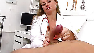 Mom, Cfnm, Uniform, Mom Boy, Milf, European, Lady, Mature, Czech, Cum On Tits, Handjob