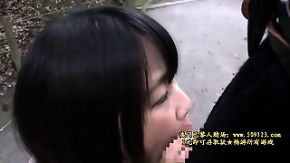 Asian Girl Blowjob With Creampie