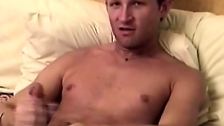 Dude Fingers His Ass And Sucks His Cock