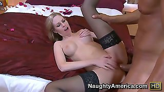 There Are Not Many Blonde Chicks Like Aimee Addison. She Is Willing To Suck Hard Dicks In Order To Get What She Wants And To Give Away Free Pussy To Big Dicks.