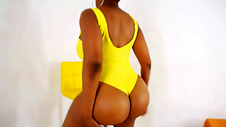 Yum Thee Boss Yellow One Piece