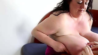 Nipples Clamps On Massive Tits