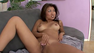 Chubby Asian Is A Dirty Slut For His Black Dick