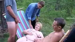 Horny Homemade Clip With Gangbang, Young/old Scenes