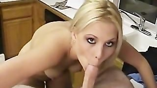 Blonde Babe Loves Tiny Dicks
