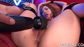 Tied Up Jap Slut Fingered And Facialized