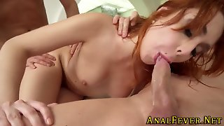 Redhead Gets Ass Fucked