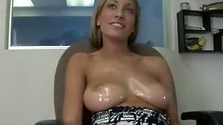 Amazing Oiled Big Tits