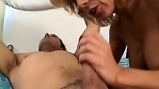 Grandma Is A Cougar And Knows How To Satisfy A Hot Young Cock