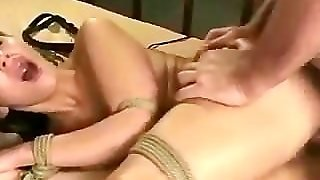 Huge Tit Girl In Bondage And Fucked