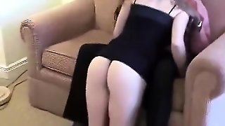 Interracial Blowjob With Blonde