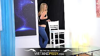 Wetandpissy - Violette - Peeing Her Pants