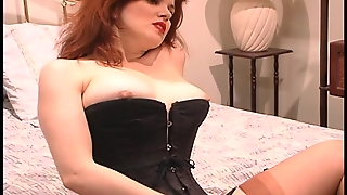 Redhead Lets The Pussy Talk