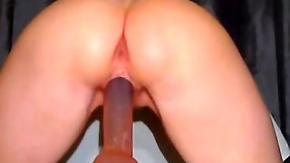 Anal And Vaginal Fun With A Dildo
