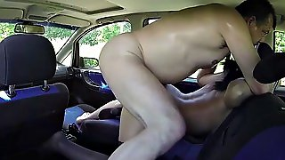 Taxi, Nipples, Brunette, Old Young, Big Tits, Czech, Hardcore, Public Nudity, Hd