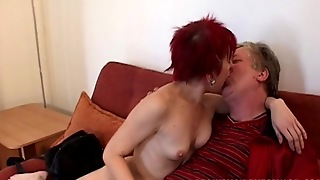 Straight, Old And Young, Blowjob, Small Tits, Perfect Body, Hardcore, Hd, Redhead, Sofa, Pussy Licking, 69 Sex