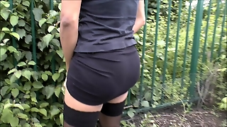 Pissing, Ladyboy, Outdoor, Pee, Shemale, Car
