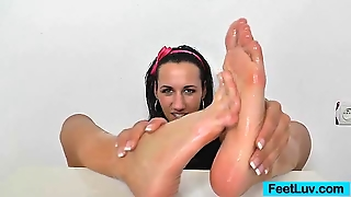 Mind-Blowing Terra Sweet Footjob
