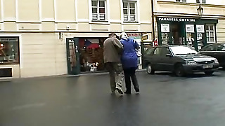 An Old Pair Of Perverts Pick Up Young Girls