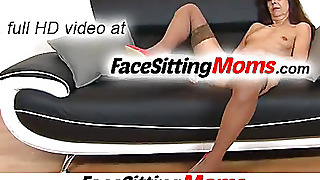 Hairy Old Gilf Lada Facesitting Fetish