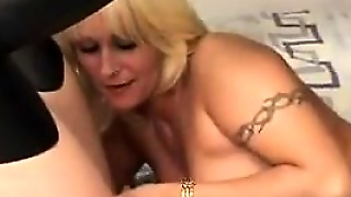 Blonde Milf Seduces A Teen