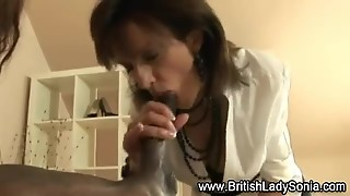 Lady Sonia Shares Cock