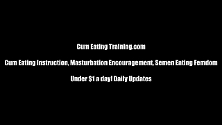 Making You Eat Your Own Cum Cei