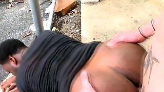 Black Ass Gets Fucked